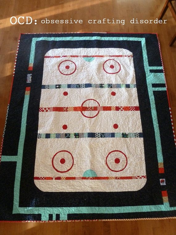 pattern the good old hockey game quilt pattern pdf format Hockey Quilt Pattern