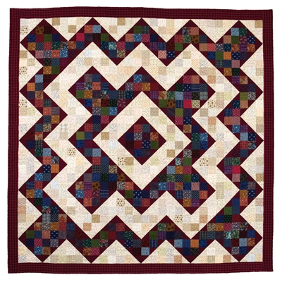 perkiomen valley nine patch quilt epattern Split Nine Patch Quilt Pattern Gallery
