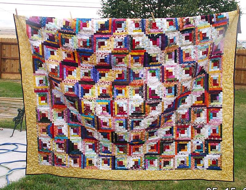 photo gallery and layout tips for log cabin quilts Interesting Log Cabin Quilts Patterns Inspirations