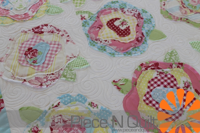 piece n quilt french roses Interesting French Rose Quilt Pattern