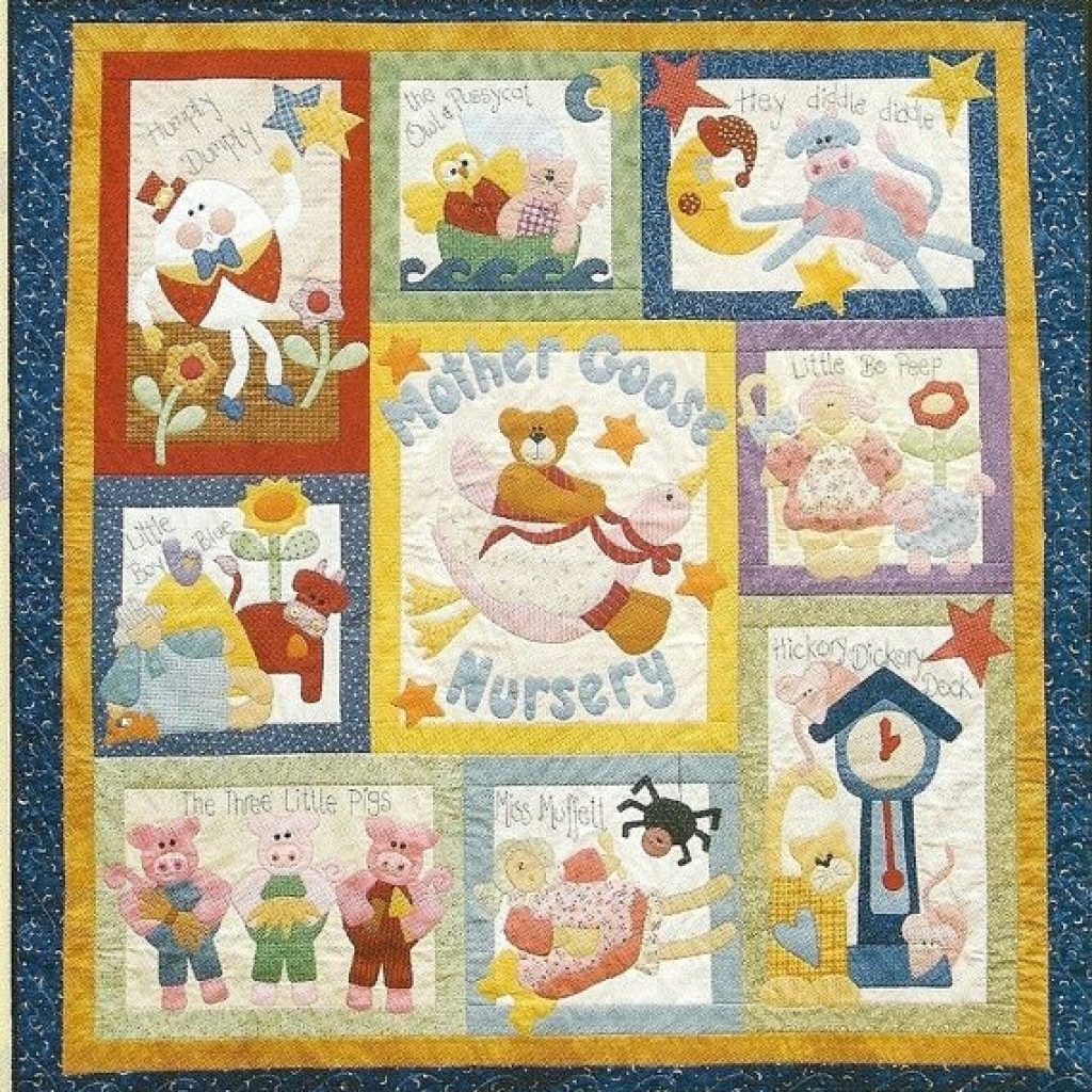pin lauren fox on my style nursery patterns cot quilt Interesting Nursery Rhyme Quilt Patterns Inspirations