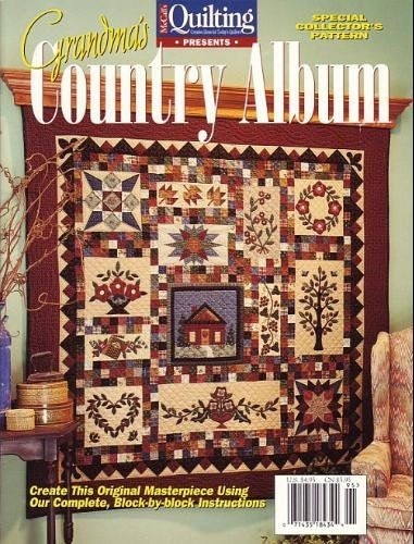 pin lisa vincent on quilts quilting quilts applique Interesting Grandmas Country Album Quilt Pattern
