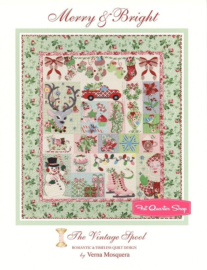 pin on christmas quilt Stylish Vintage Spool Quilt Patterns Inspirations