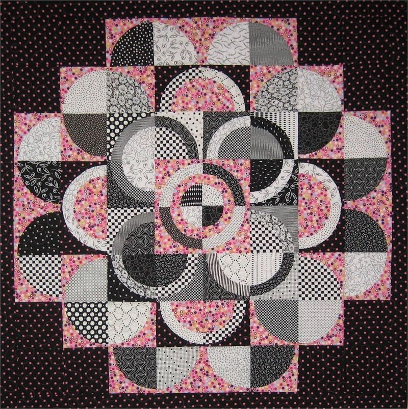 pin on crafts Interesting Quilt Patterns With Circles Gallery