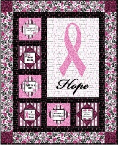 pin on free quilt patterns Cozy Breast Cancer Quilt Pattern