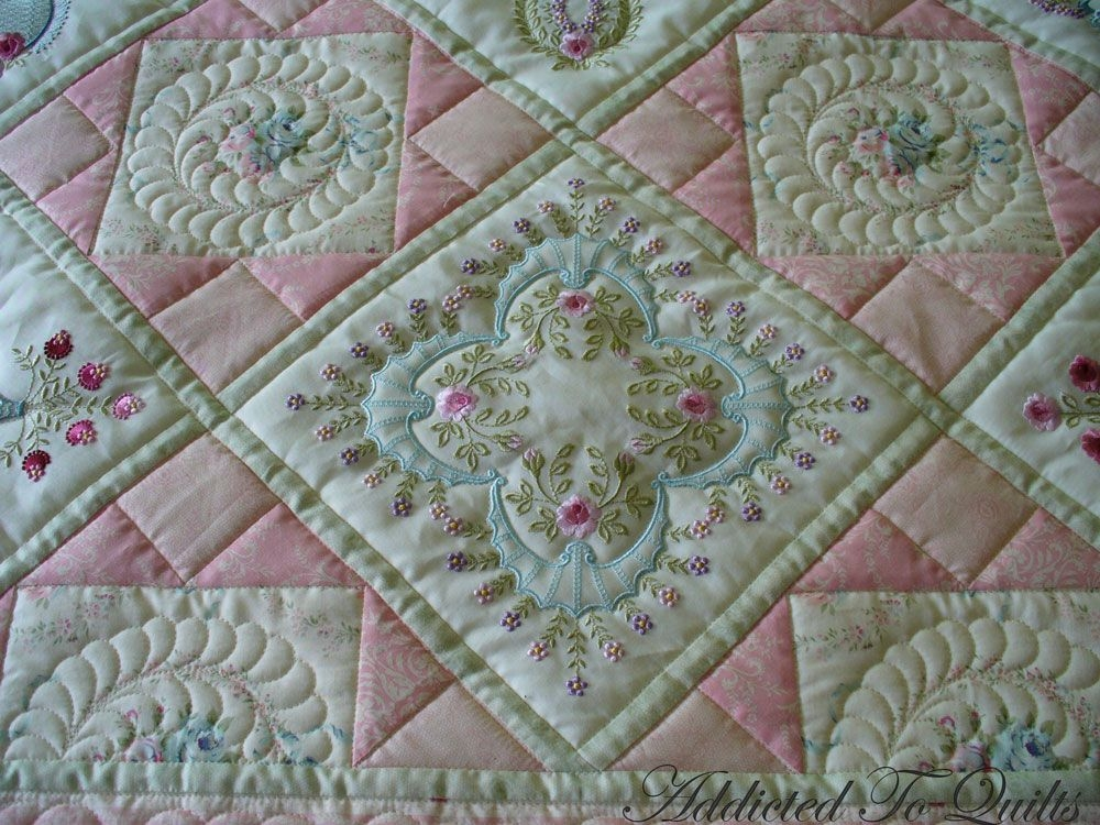pin on machine embroidery applique Interesting Embroidery Quilt Patterns Gallery
