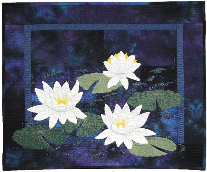 pin on quilts Interesting Water Lily Quilt Pattern Inspirations