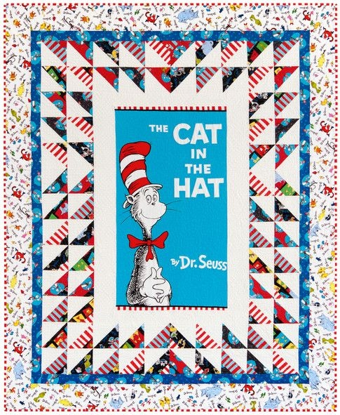 pin on quilts we love Interesting Cat In The Hat Quilt Pattern