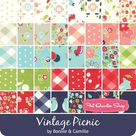 pin on sew it Unique Moda Vintage Picnic Quilt Gallery
