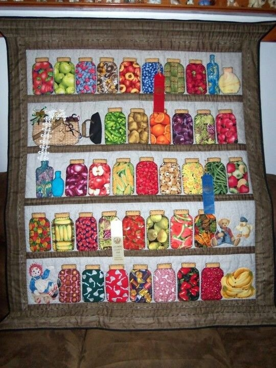 pin on sewing quilts appliqu and other projects Canning Jar Quilt Pattern Inspirations