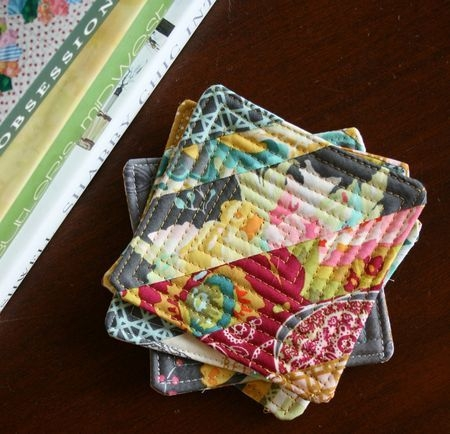 pin on sewing quilts Interesting Quilted Coaster Patterns