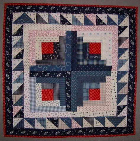 pinterest Cozy Log Cabin Quilt Pattern History