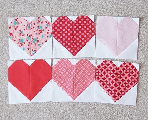 pinterest Heart Quilt Block Patterns Gallery