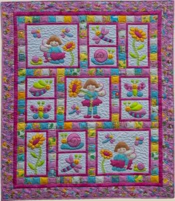 pixie girl kids quilts quilt pattern 2000 Stylish Little Girl Quilt Patterns Gallery