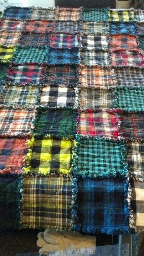 plaid flannel rag quilt quilts flannel rag quilts rag Cool Flannel Rag Quilt Patterns Gallery