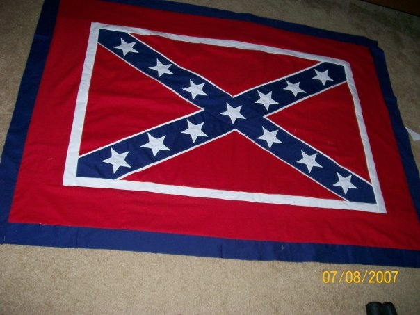 podunk pretties throwback thursday ignorance is bliss Elegant Confederate Flag Quilt Patterns