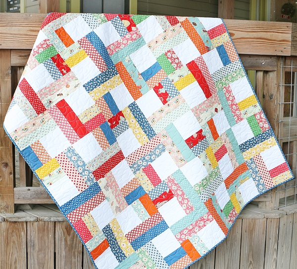 precut parade free jelly roll pattern the jolly jabber Interesting Quilt Jelly Roll Patterns Gallery
