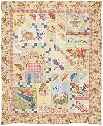 primavera the vintage spool Stylish Vintage Spool Quilt Patterns Inspirations