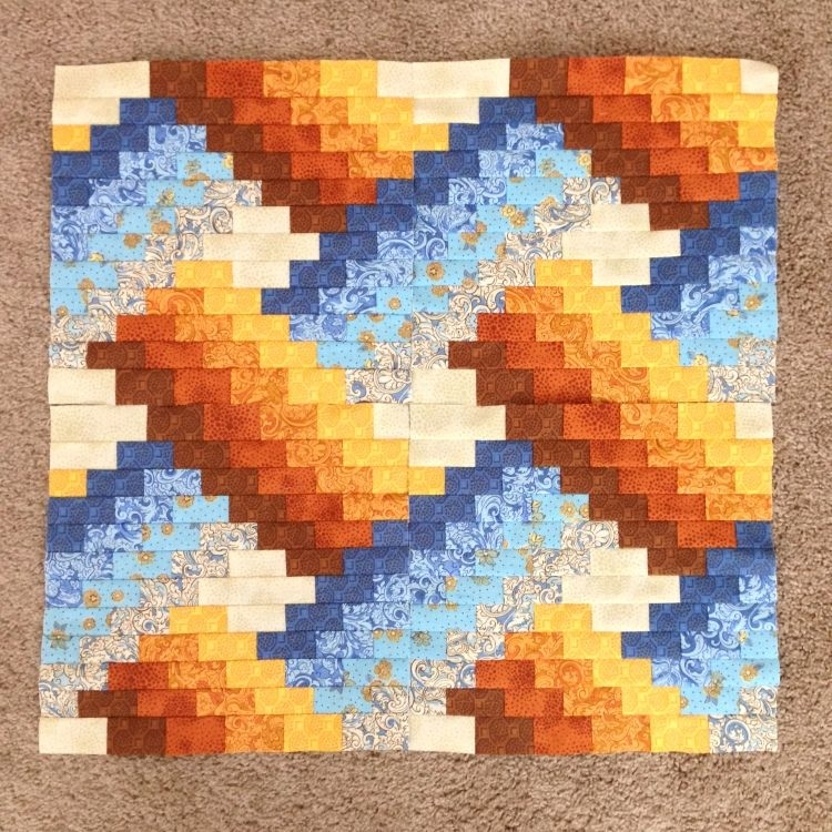 progress on weaver fever quilt with us quilt piecing Modern Weaver Fever Quilt Pattern Gallery