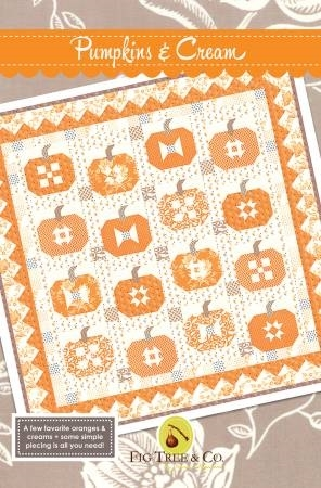pumpkins and cream quilt pattern from fig tree quilts Cozy Fig Tree Quilts Patterns
