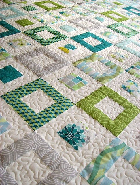 qd springtime 7 modern quilts quilts easy quilts Stylish Elegant Whole Quilting Fabric Ideas