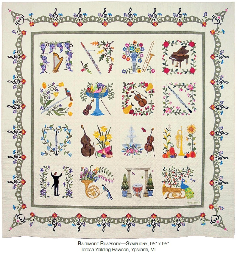 quilt 2018 baltimore album quilts aqs blog Baltimore Album Quilt Patterns