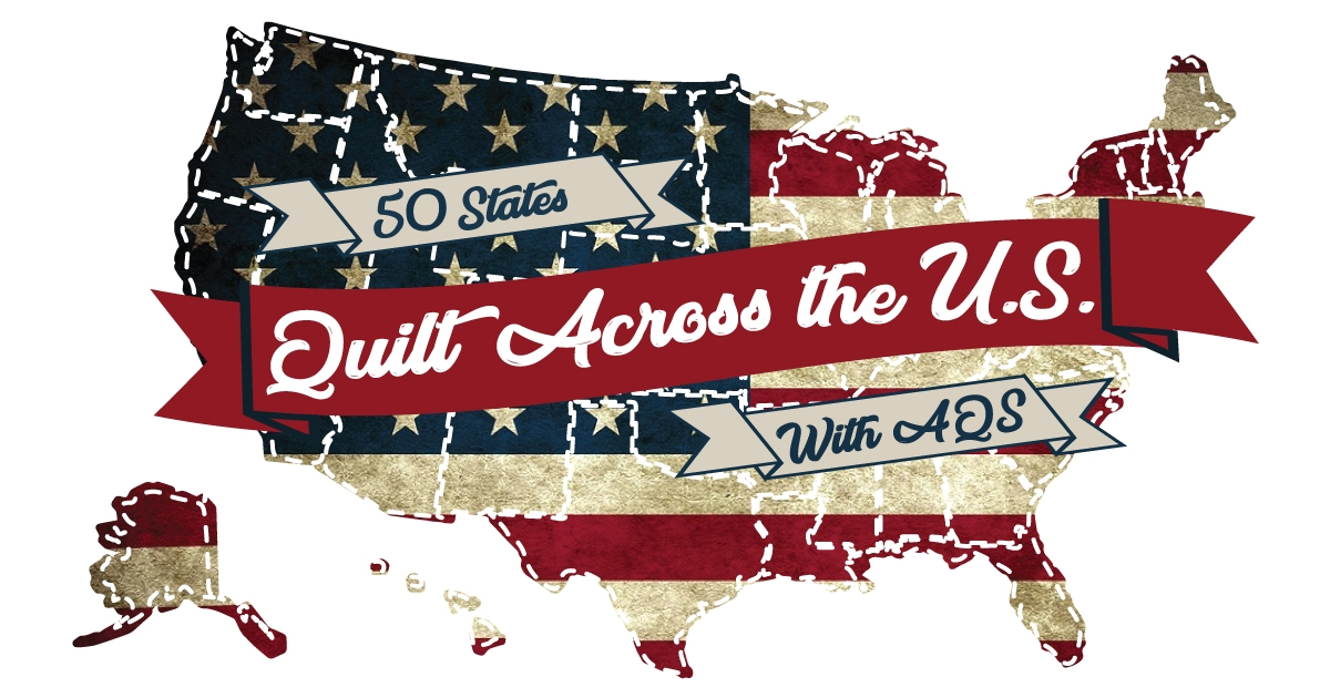 quilt across the us with aqs 50 state quilt blocks aqs blog Elegant State Quilt Block Patterns Gallery