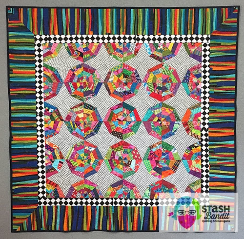 quilt borders what not to do stash bandit Cool Sewing A Quilt Border