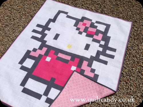 quilt candy hello kitty Unique Hello Kitty Quilt Pattern