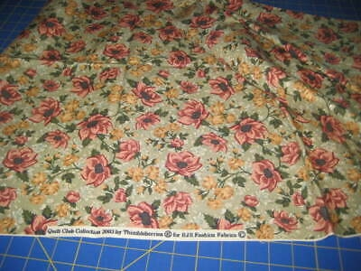 quilt fabric thimbleberries club 2003 1 yard 100 cottonnew ebay Elegant New Thimbleberries Quilt Fabric Gallery