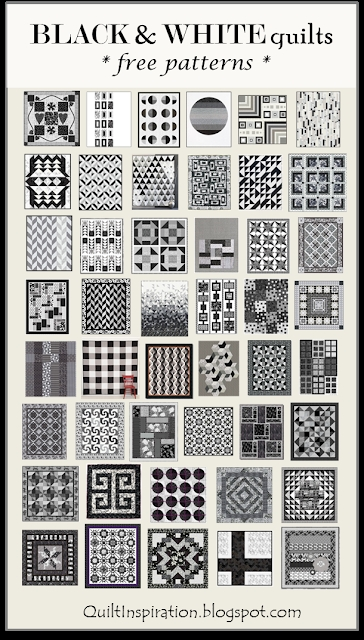 Permalink to Elegant Black And White Quilt Pattern Gallery