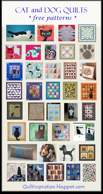 quilt inspiration free pattern day cat and dog quilts Cozy Cat Quilt Patterns Inspirations