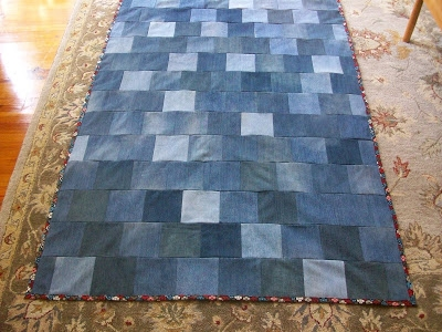 quilt inspiration free pattern day denim quilts Stylish Denim Patchwork Quilt Patterns Inspirations