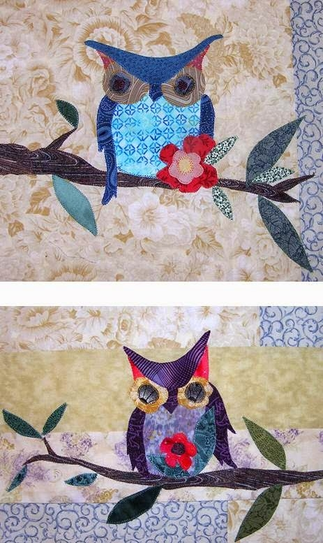 quilt inspiration free pattern day owls Cool Owl Applique Quilt Pattern Gallery