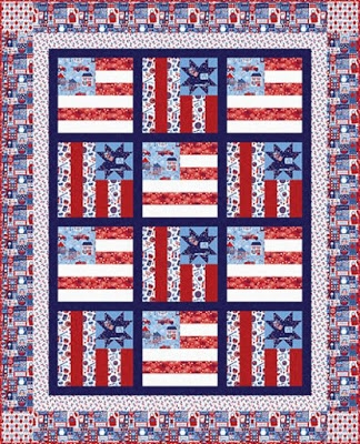 quilt inspiration free pattern day patriotic and flag quilts Elegant Patriotic Quilts Patterns