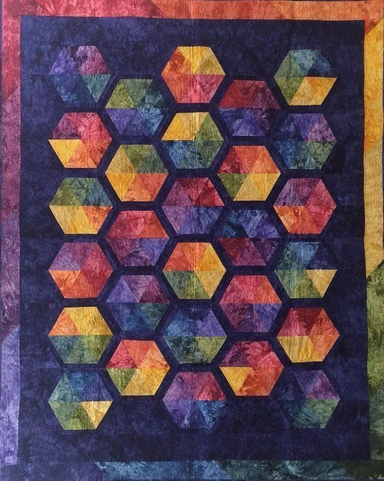 quilt kit citrus splash starr designs hand dyed cotton Beautiful Ebay Cotton Fabric Quilting Ideas Gallery