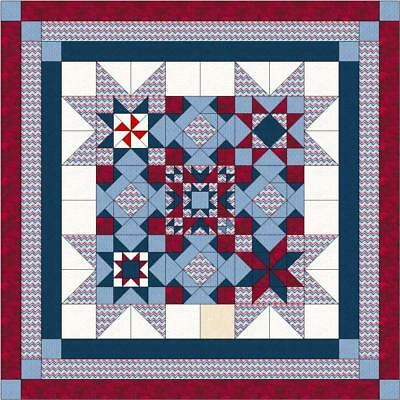 quilt kit patrioticold gloryred white and blueprecut ready Unique Ready To Sew Quilt Kits Inspirations