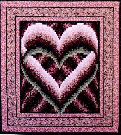 quilt patterns free bargello quilt patterns browse Interesting Heart Bargello Quilt Pattern Gallery