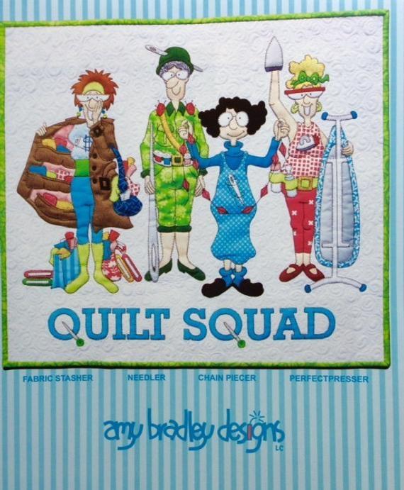 quilt squad amy bradley designs art quilt pattern 21 x 23 12 wall hanging Cozy Amy Bradley Quilt Patterns Gallery