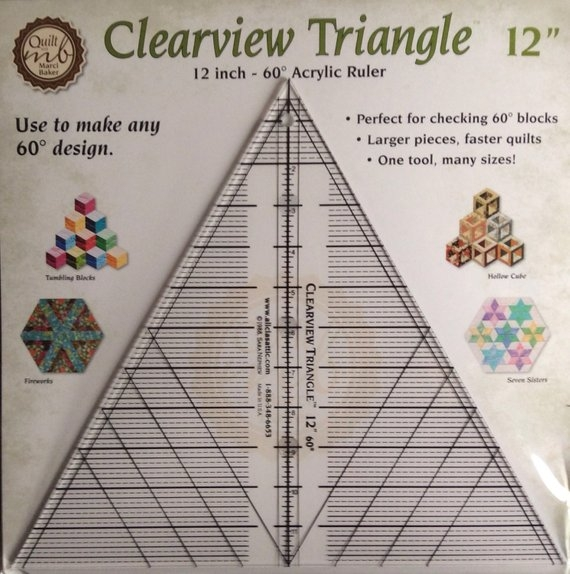 quilt template triangle ruler 12 60 degree quilt ruler mens Unique Triangle Ruler For Quilting