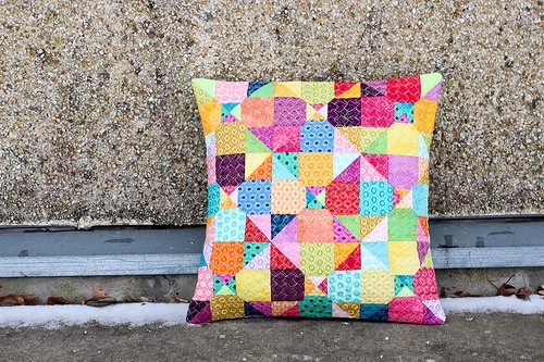 quilted pillow senrefill Cool Quilted Pillows Patterns Inspirations