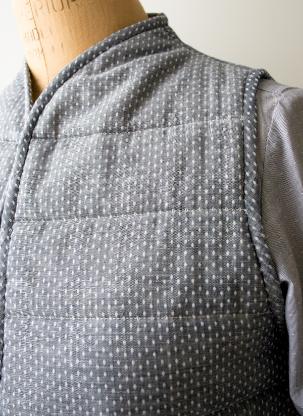quilted vest purl soho Cool Quilted Vest Sewing Pattern Inspirations