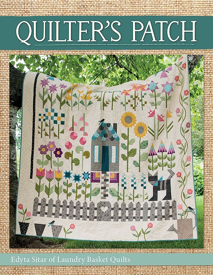 quilters patch book edyta sitar of laundry basket quilts Cool Patches Quilting And Sewing Gallery