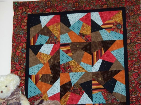 quilting board Cozy Stack The Deck Quilt Pattern