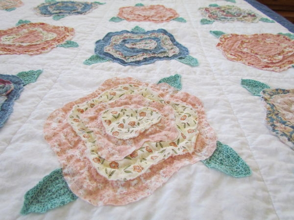 quilting board Interesting French Rose Quilt Pattern