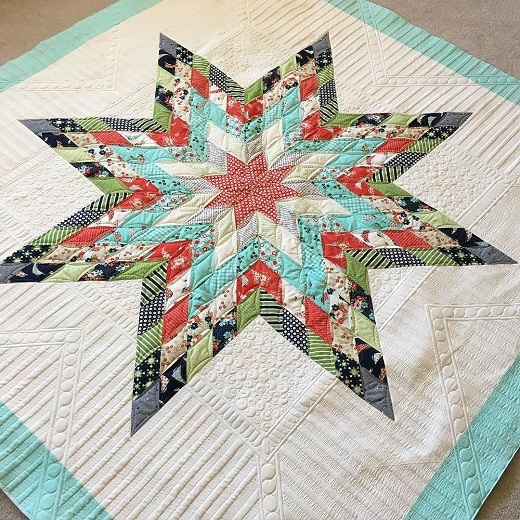 quilting land jellied lone star quilt Unique Lone Star Quilt Pattern Free Inspirations