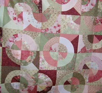 quilting pattern for circles Interesting Quilt Patterns With Circles Gallery