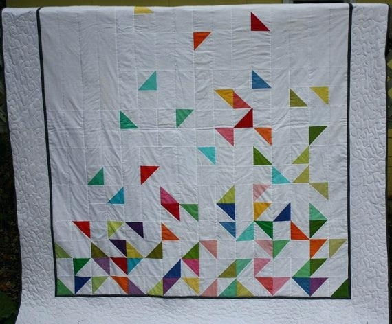 quilts using half square triangles quilts with squares and Cozy Quilts Using Half Square Triangles Gallery