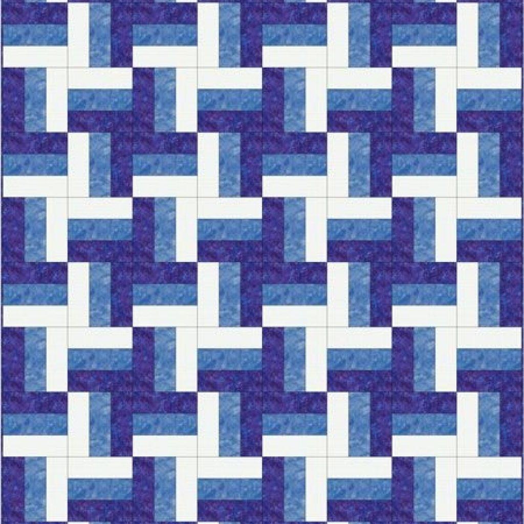 rail fence quilt pattern designs easy beginner quilt Cozy Split Rail Fence Quilt Pattern Inspirations