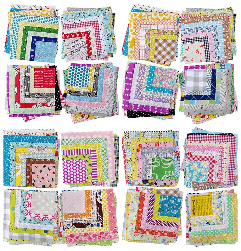 red pepper quilts scrappy quarter log cabin quilt and tutorial Unique Log Cabin Square Quilt Inspirations